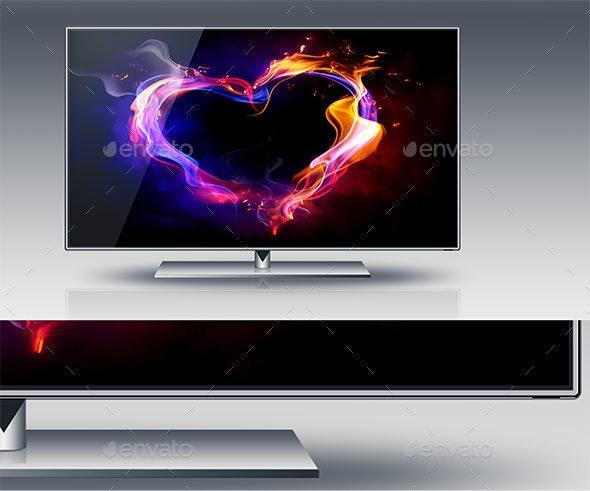High Resolution LCD TV and Monitor - Monitors Displays