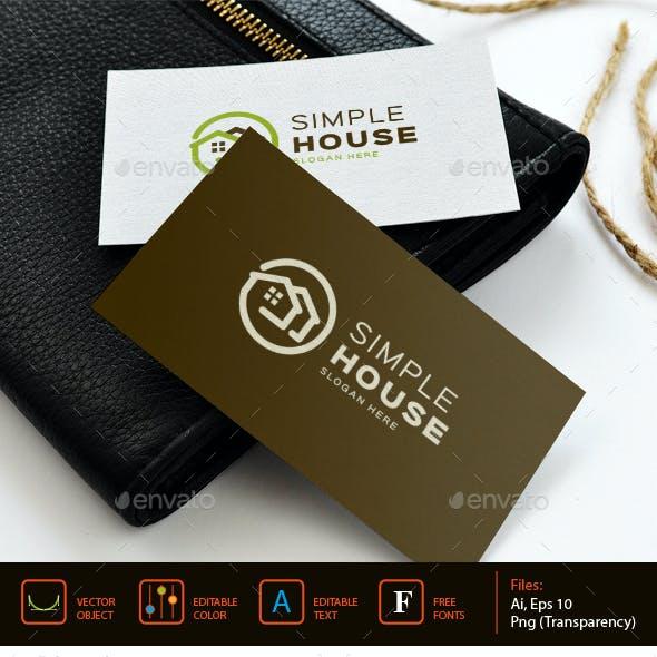Simple house logo