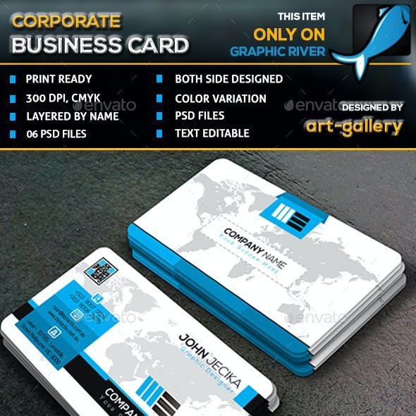 Corporate Business Card - 70B