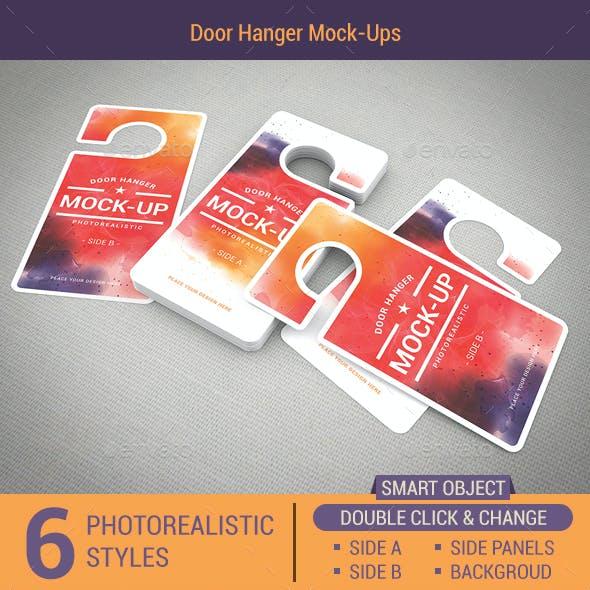 Door Hanger Mock-Ups