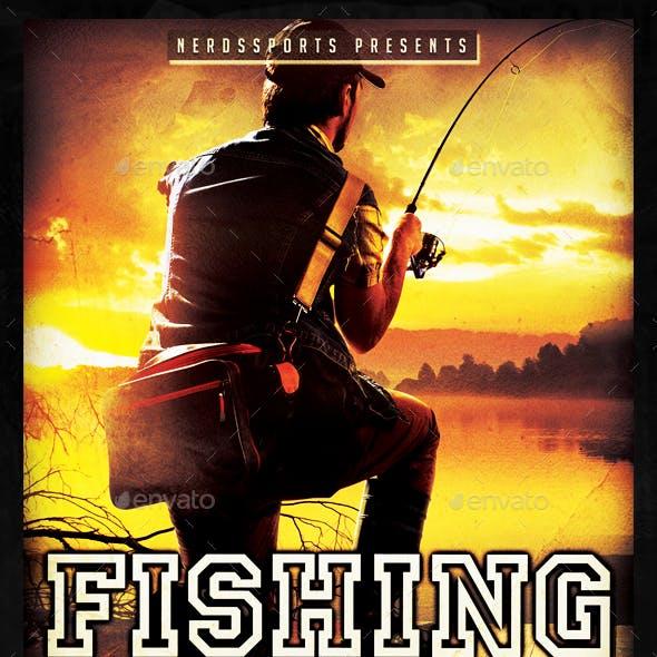 Fishing Tournament Sports Flyer