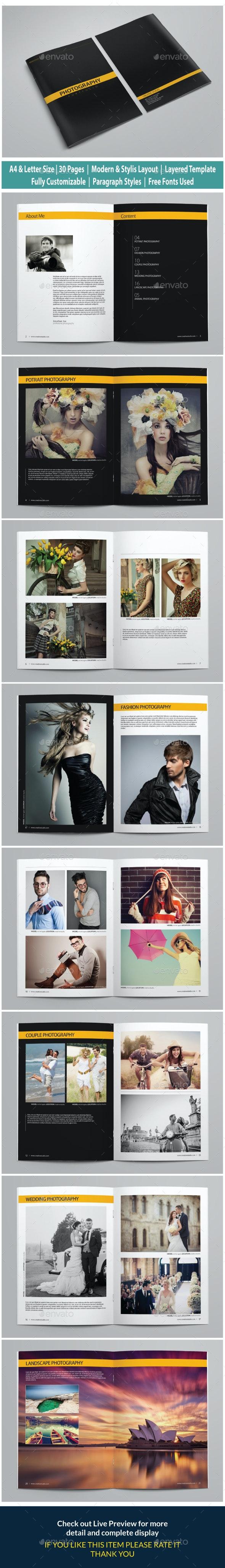 Photography Portfolio vol 1 - Portfolio Brochures
