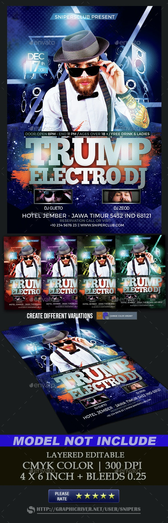 Dj Flyer - Events Flyers