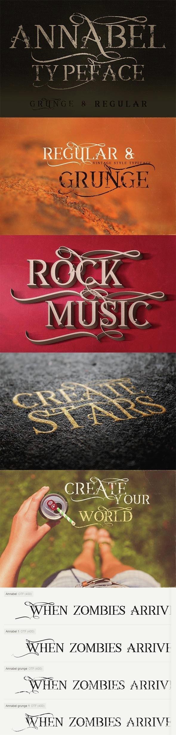 Anabel Font - Decorative Fonts