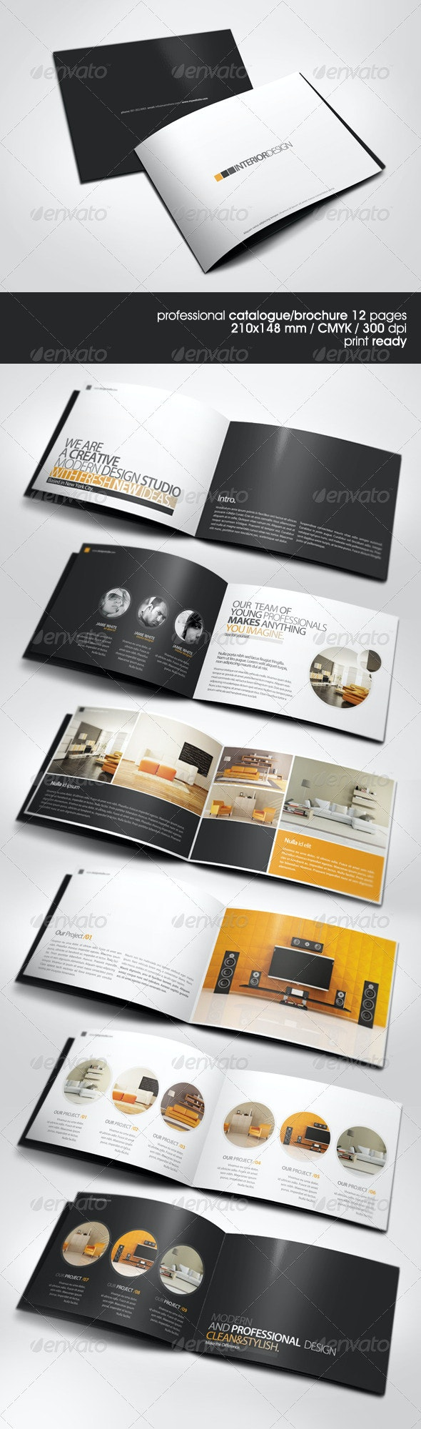 Modern A5 Catalogue - Catalogs Brochures