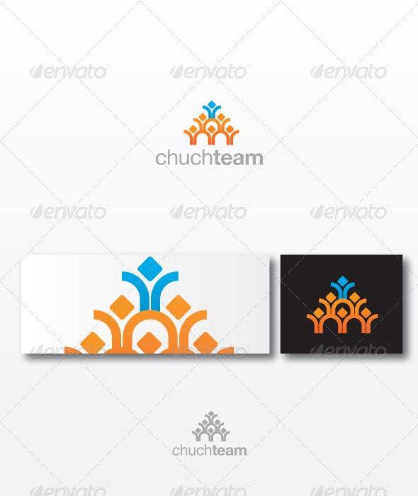 Churchteam - Humans Logo Templates