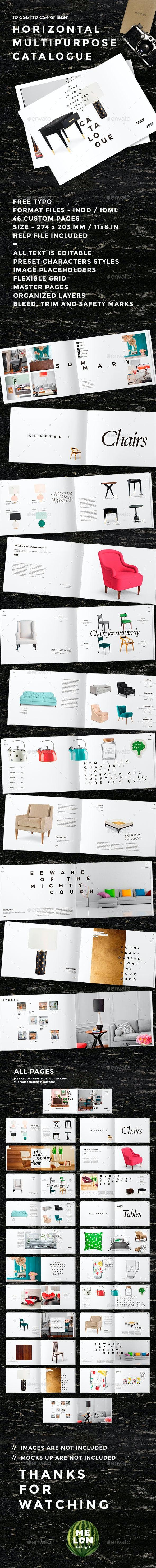 Horizontal Multipurpose Catalogue - Catalogs Brochures
