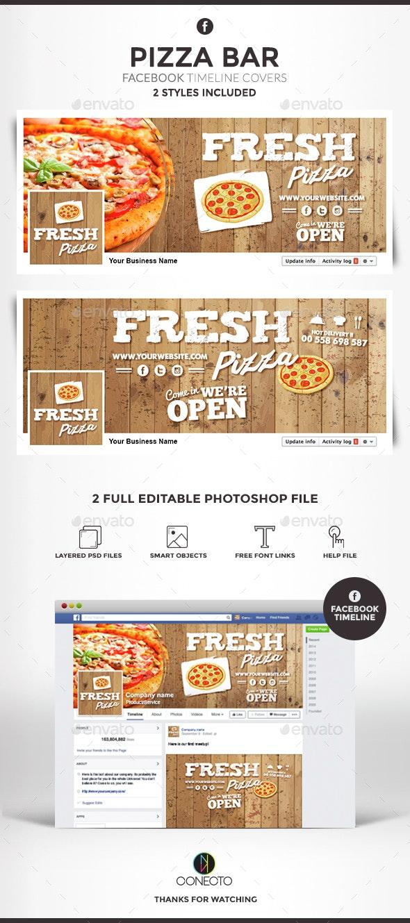 Facebook Timeline Cover - Pizza Bar - Facebook Timeline Covers Social Media