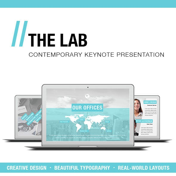 THE LAB - Keynote Presentation Template