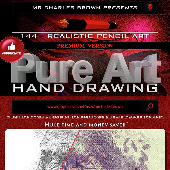 Pure Art Hand Drawing 144 – Realistic Pencil Art