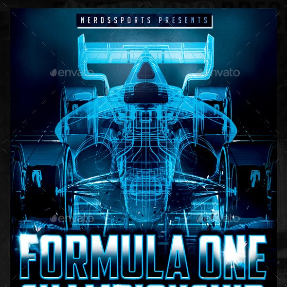 Formula Race Championships Sports Flye