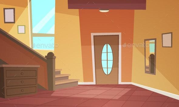 Cartoon Interior - Buildings Objects