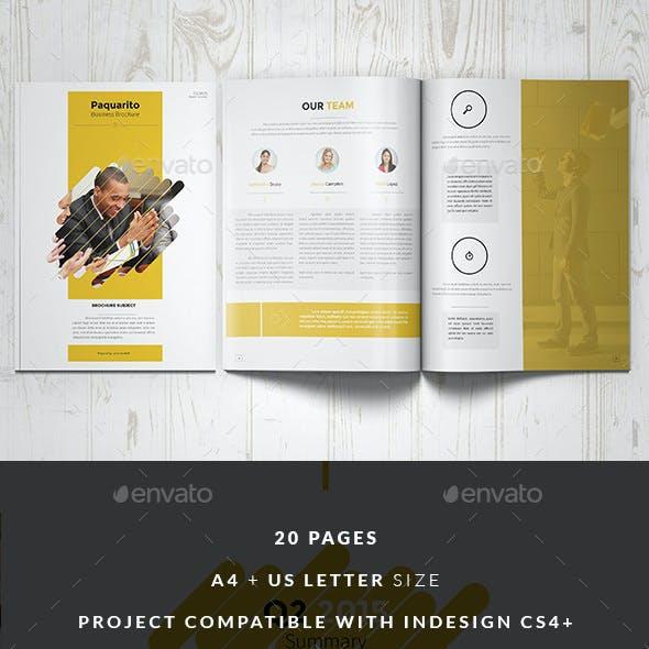 Paquarito Business Proposal