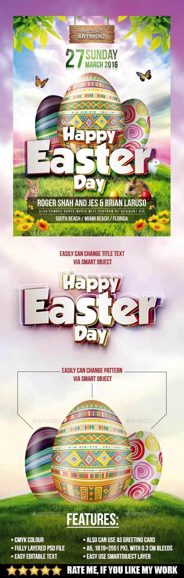 Easter Day Flyer - Events Flyers