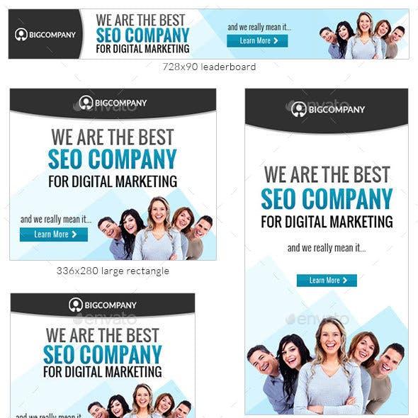 Corporate Web Banner Design Template 70 - Lite