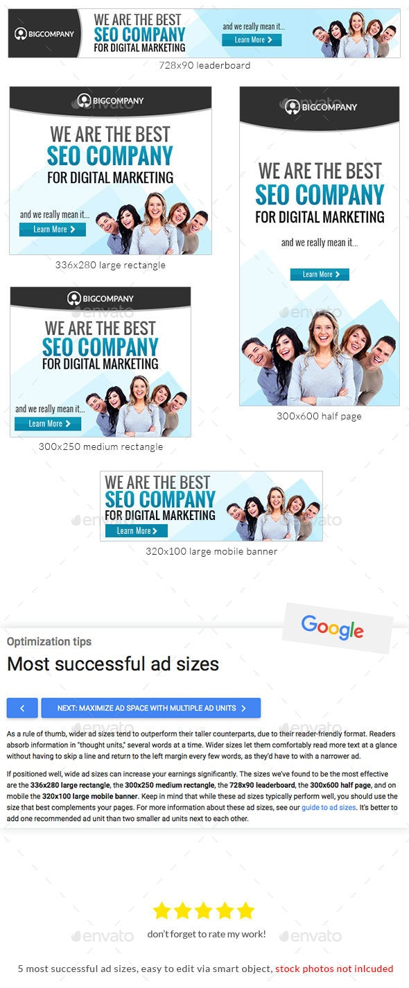Corporate Web Banner Design Template 70 - Lite - Banners & Ads Web Elements