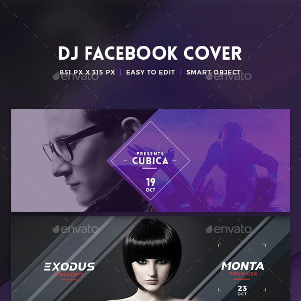 Facebook DJ Cover