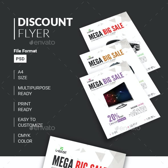 Product Sale Flyer