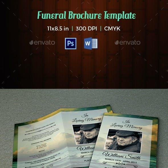 Funeral Program Template-V22
