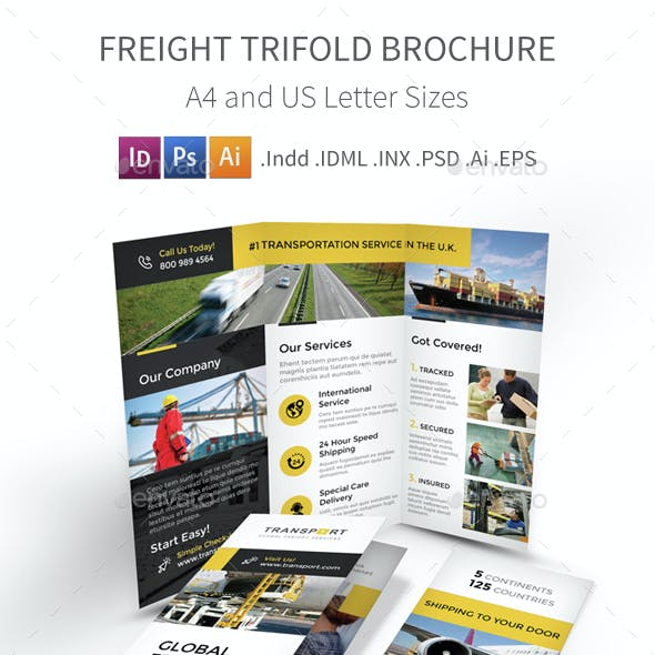 Freight Trifold Brochure