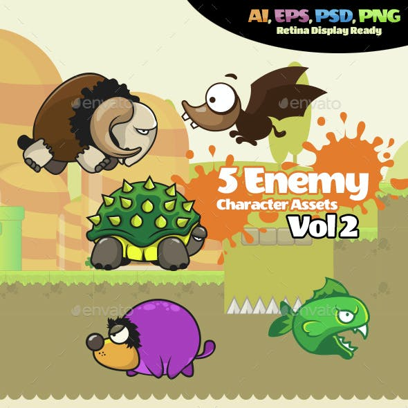 Enemy Character Vol 02