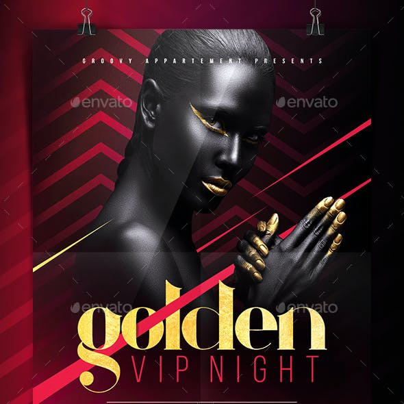 Golden VIP Night Flyer