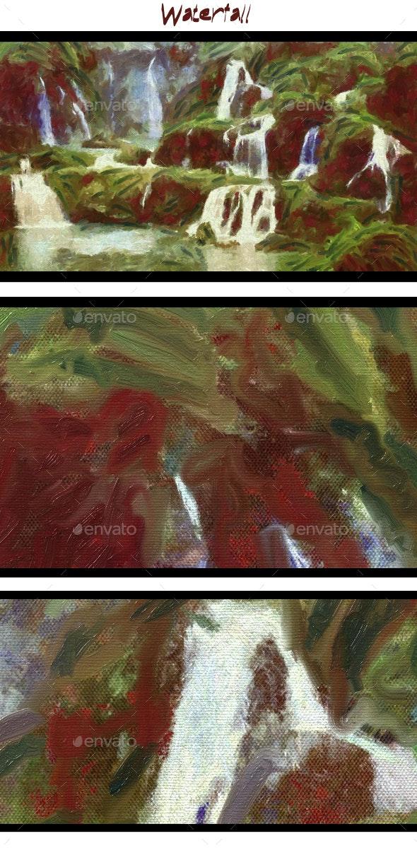 Waterfall - Art Textures