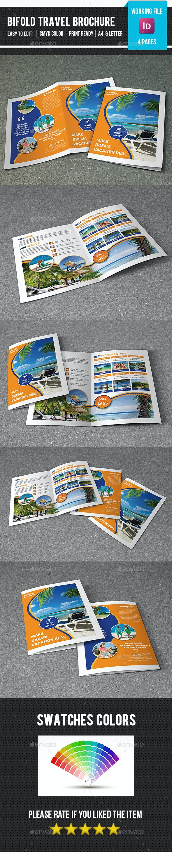 Travel Tour Brochure Template-V364 - Corporate Brochures