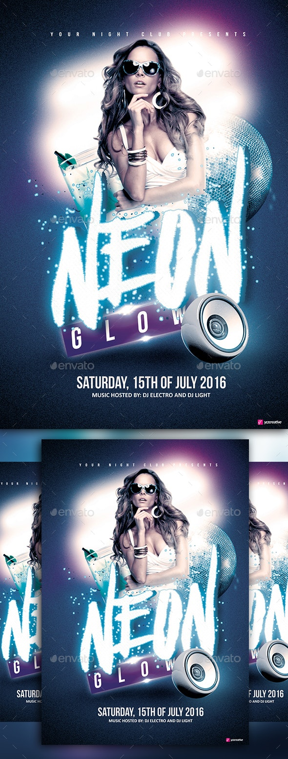 Neon Glow - Clubs & Parties Events