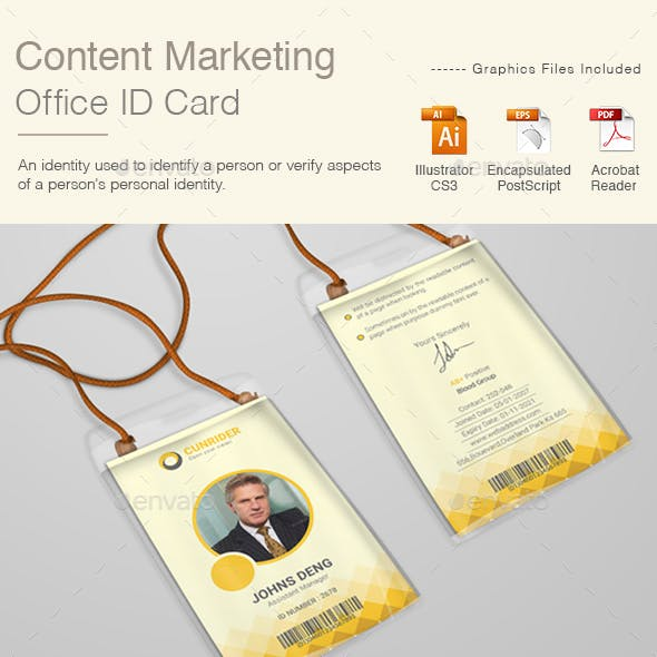 Content Marketing Office ID Card | Volume 2