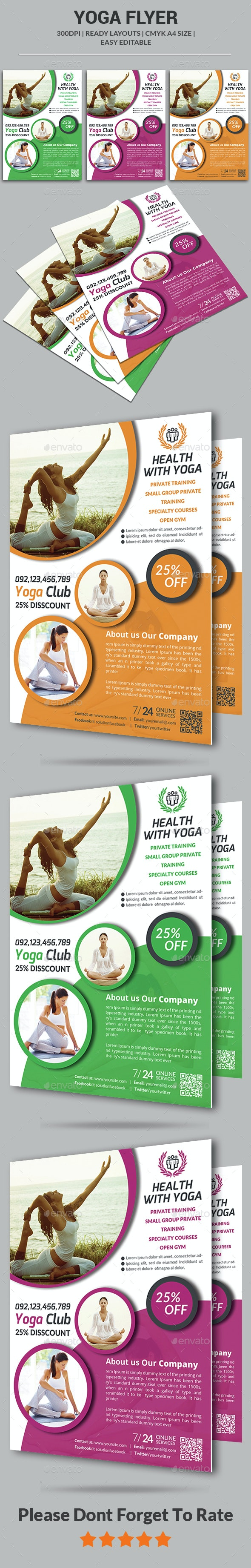 Yoga Flyer  - Corporate Flyers
