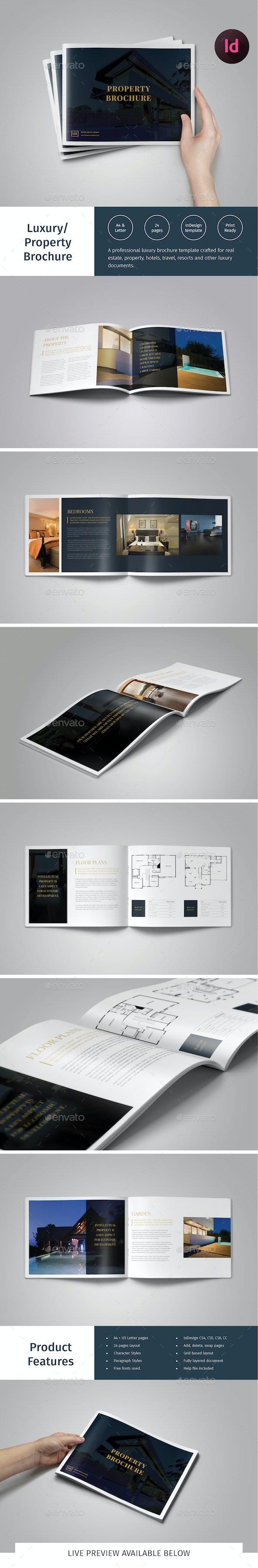 Luxury Brochure/ Hotel, Property Catalog - Catalogs Brochures