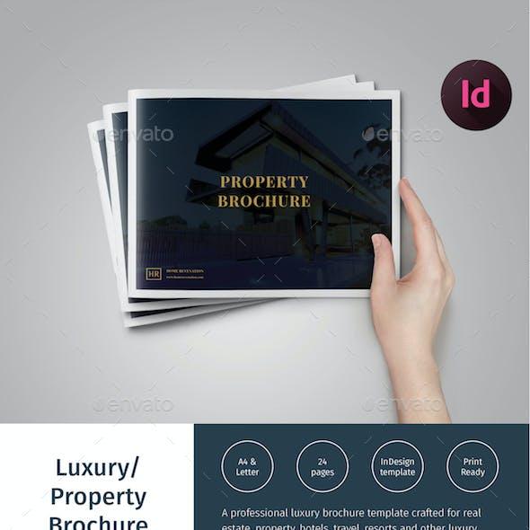 Luxury Brochure/ Hotel, Property Catalog