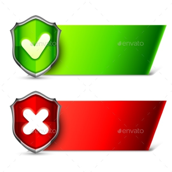 Security Banners with Shields - Web Technology