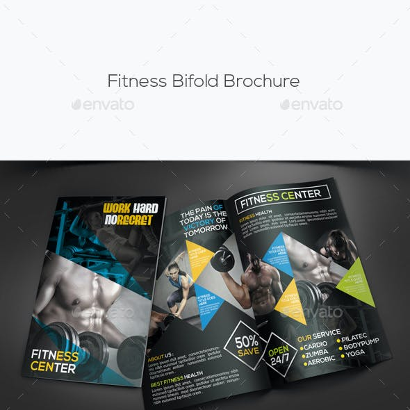 Fitness Bifold Brochure