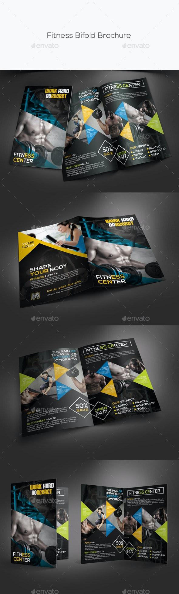 Fitness Bifold Brochure - Informational Brochures