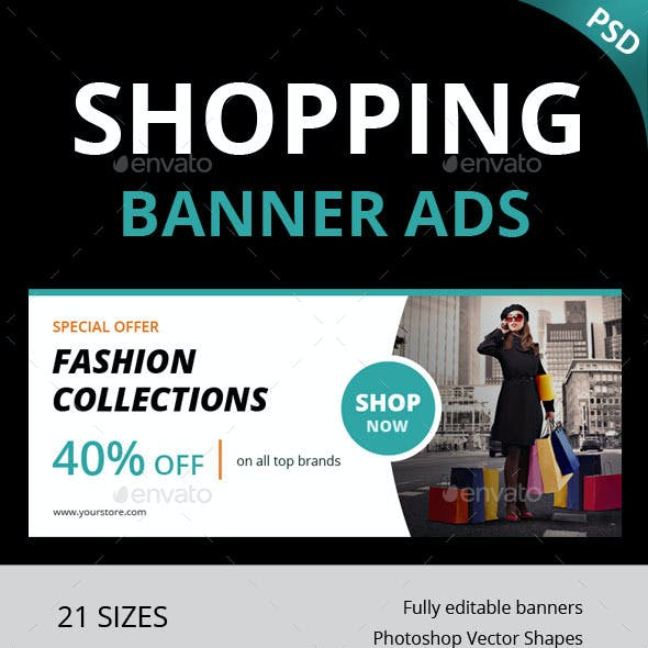 Shopping Ad Banner