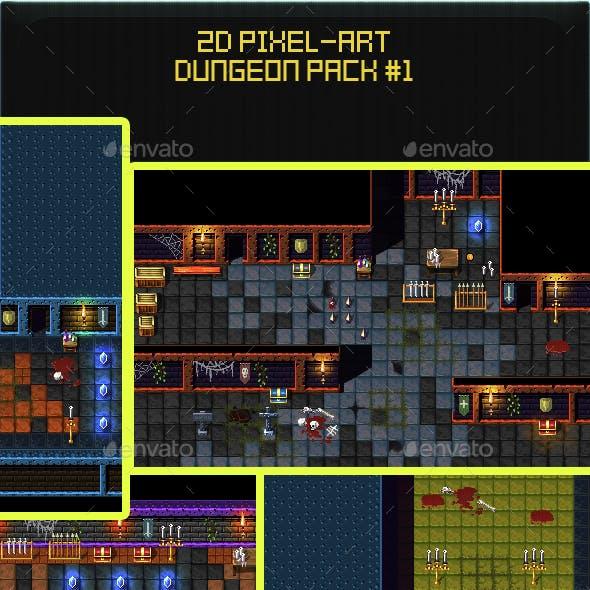 2D Pixel Art Dungeon Pack #1