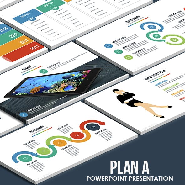 Plan A - Multi-purpose Powerpoint Template