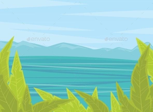 Summer Or Spring Time Background - Landscapes Nature