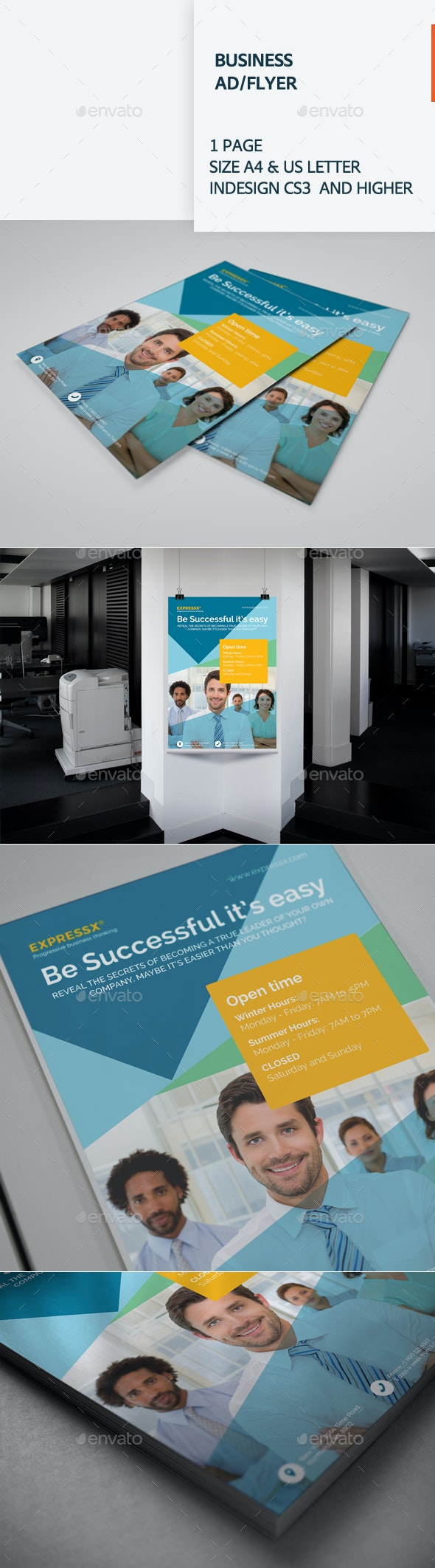 Business Ad / Flyer - Corporate Flyers