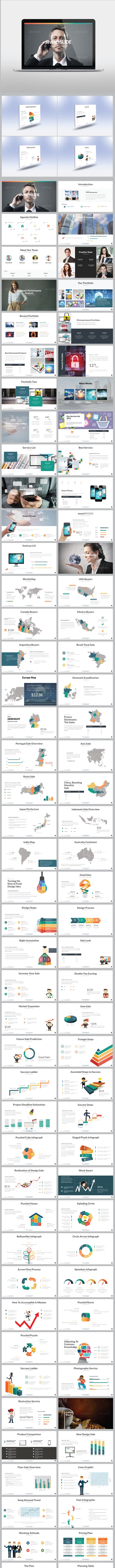 seventhSlide Presentation Template - Business PowerPoint Templates
