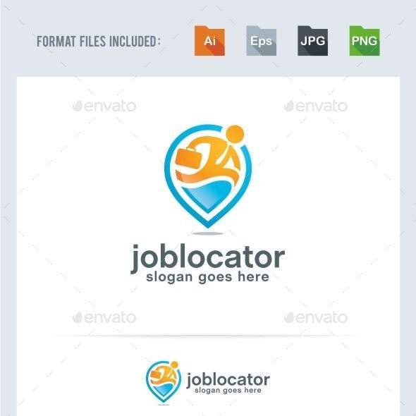 Job Locator Logo Template