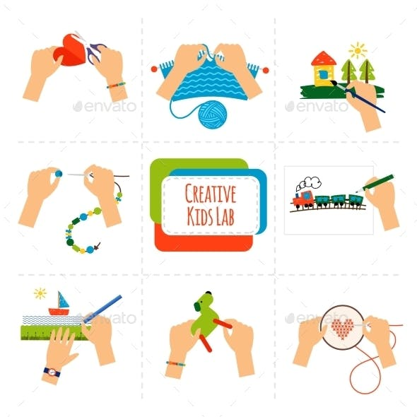 Creative Kids Hands