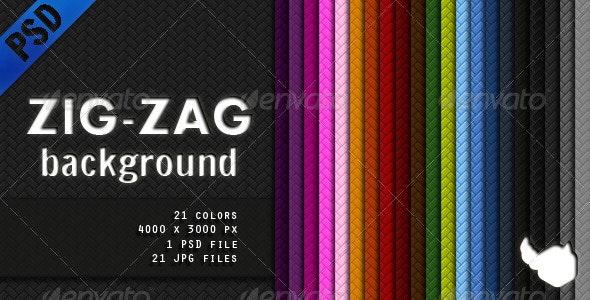 Zig Zag Background - Backgrounds Graphics