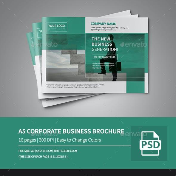 A5 Corporate Business Brochure