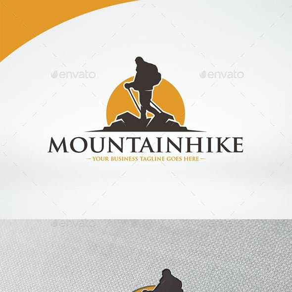 Mountain Hike Logo Template