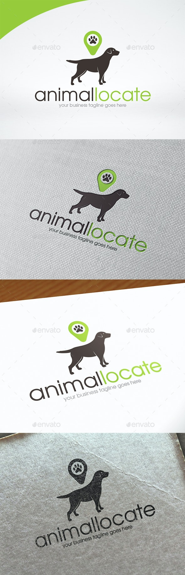 Animal Locator Logo Template - Animals Logo Templates