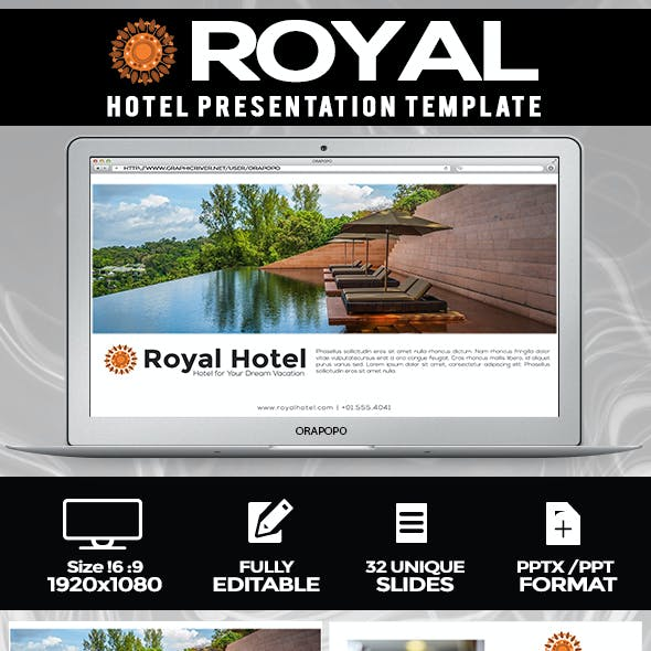Royal ~ Hotel Presentation Template
