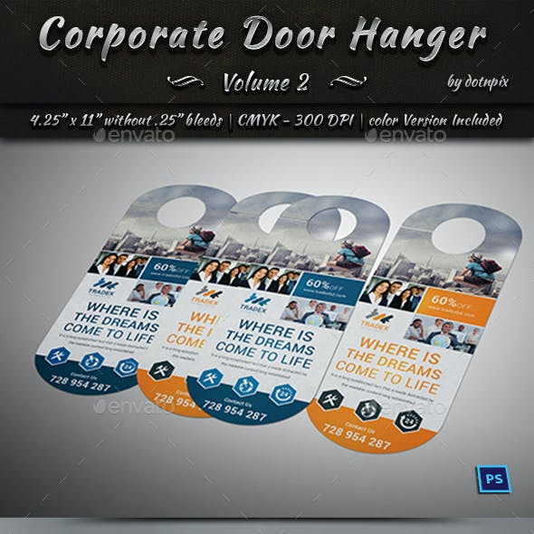 Corporate Door Hanger - V2